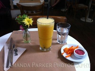 Fresh Squeezed Mango Juice!