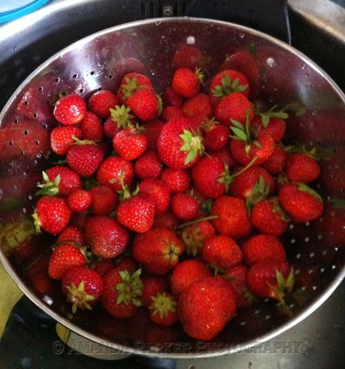 Strawberries from July